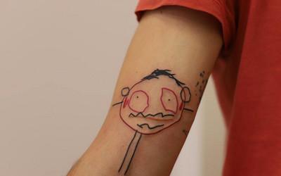 Tatuaż Z Rysunkiem Twojego Dziecka Skusisz Się