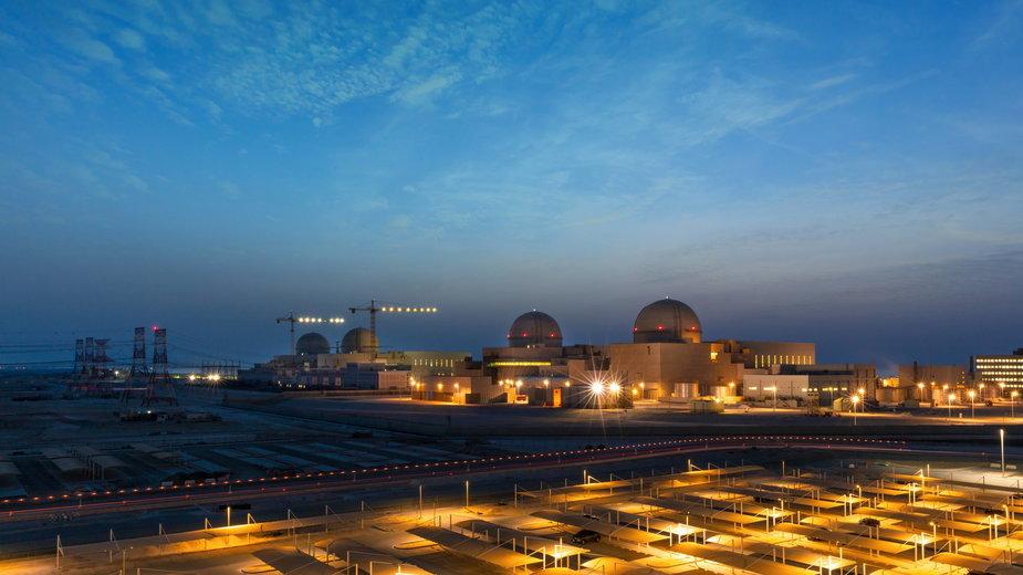 Elektrownia jądrowa Barakah w Zjednoczonych Emiratach Arabskich