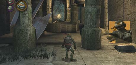 """Screen z gry """"TMNT Wojownicze Żółwie Ninja"""""""