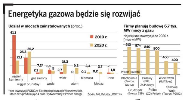 Energetyka gazowa będzie się rozwijać