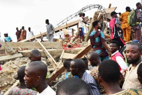Ibadan building collapse 1