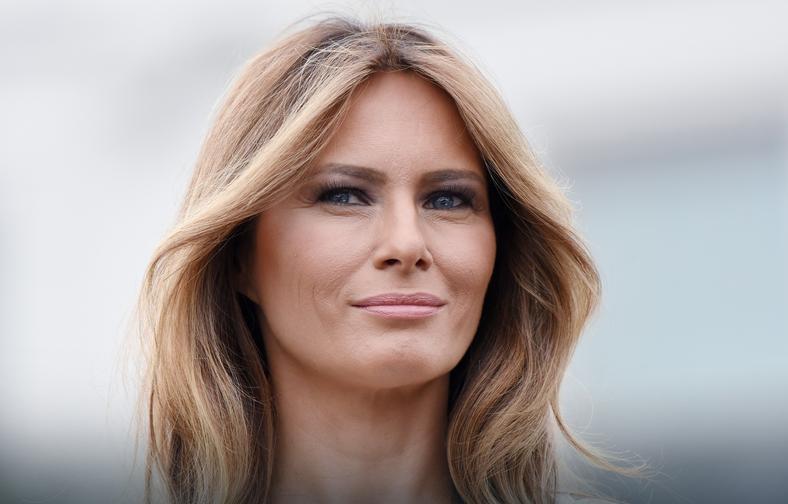 Melania Trump w 2017 roku