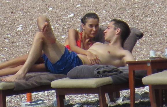 Miloš Ivanović i Dragana Džajić