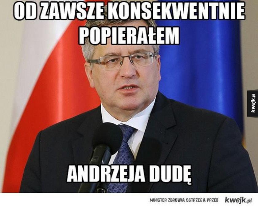Bronisław Komorowski - Mem