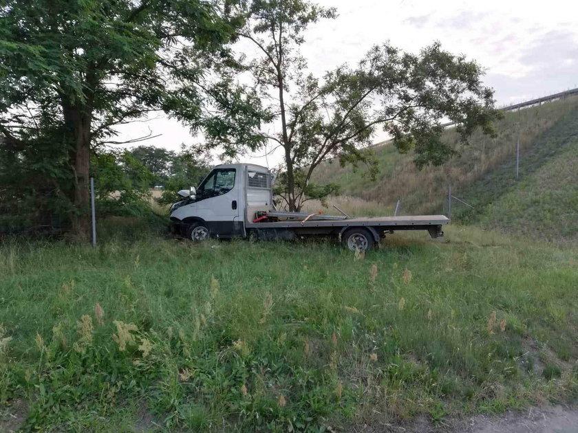 Groźny wypadek na autostradzie A4. Ranne cztery osoby
