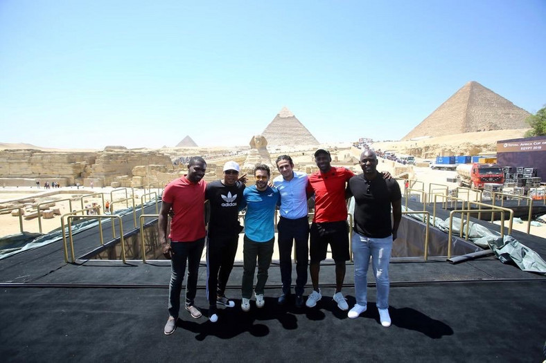African legends converge in Egypt