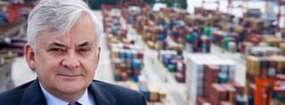 Szef BCT Krzysztof Szymborski chce, by port w Gdyni przegonił ten w Hamburgu