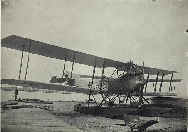 Niemiecki hydroplan Oesterr w Odessie w 1917 roku