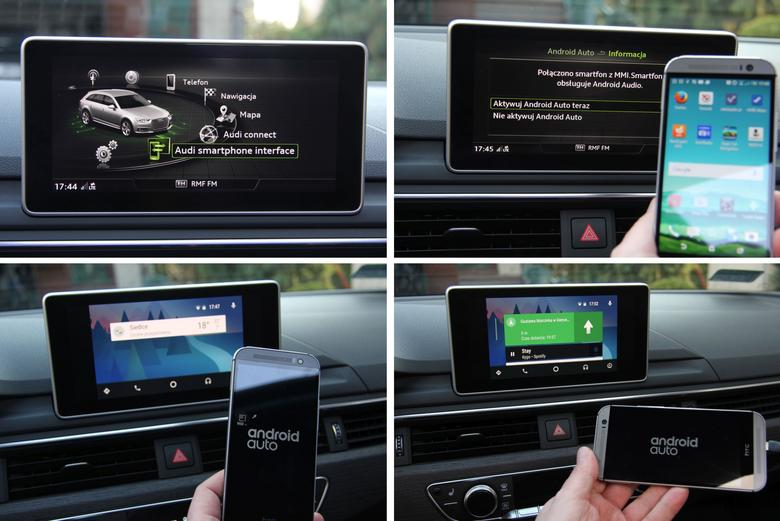 Audi A4 2016 Smartphone interface