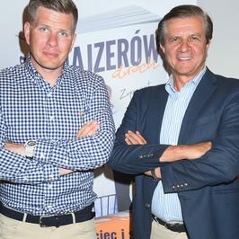 Filip Chajzer z ojcem na promocji książki. Jak wypadli?
