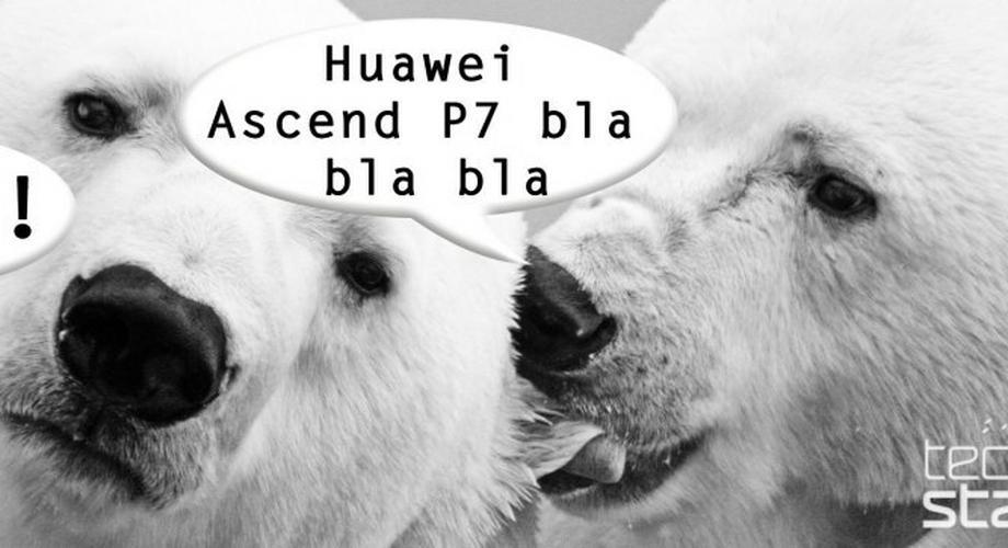 Pressebild? Huawei Ascend P7 zeigt sich kurz vor dem MWC