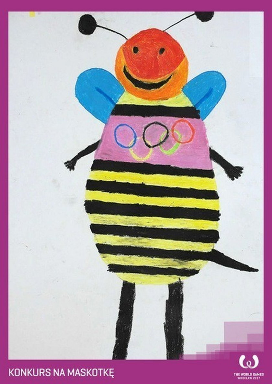 Konkurs na maskotkę na World Games 2017: pszczoła