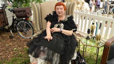 Nowojorska ikona stylu Lynn Yaeger