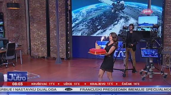 Dea Đurđević rođendansko iznenađenje u studiju