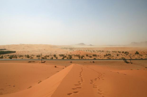 Pustynia w Arabii Saudyjskiej