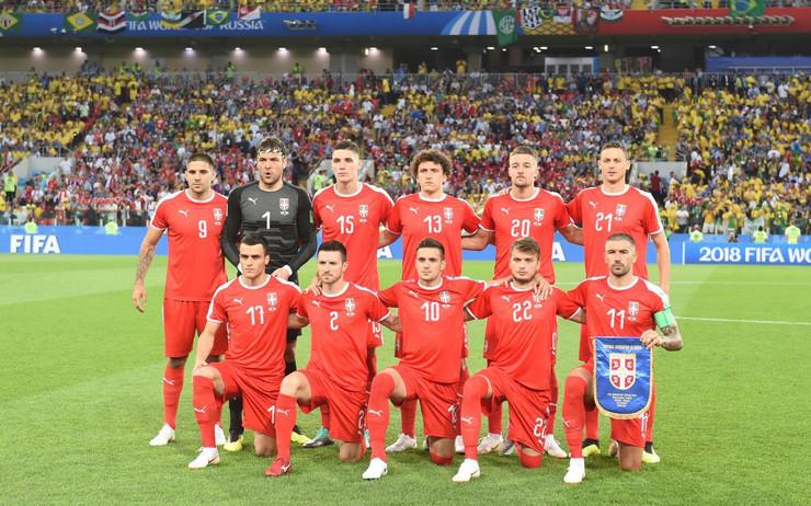 Fudbalska reprezentacjia Srbije
