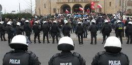 Bijatyka i wyzwiska na marszu w Poznaniu