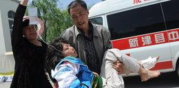 Trzęsienie ziemi w Chinach. Są ranni i zabici!