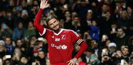 Beckham zachwycony zagraniem niewidomego piłkarza! WIDEO