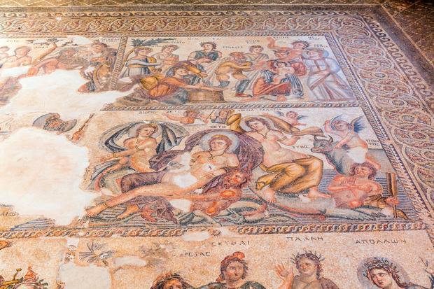 Rzymskie mozaiki w Kato Pafos