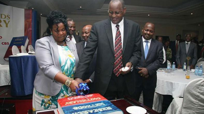 File image of former Kenyatta University VC Olive Mugenda and her husband Prof Abel Mugenda