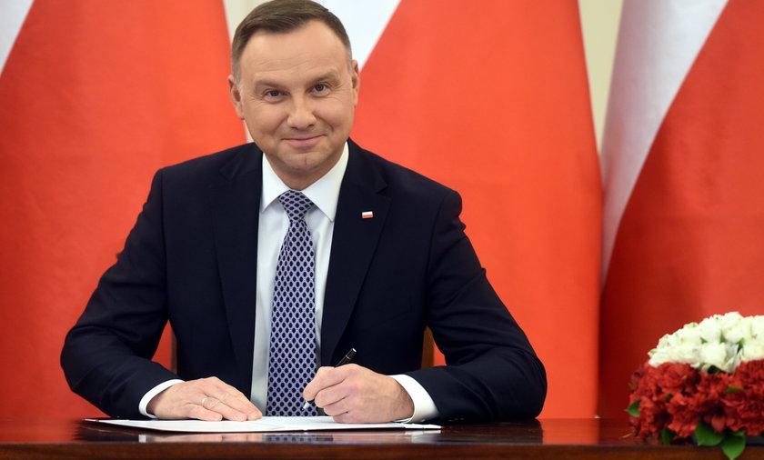 Przez pół roku prezydent skierował do Sejmu tylko projekt jednej ustawy