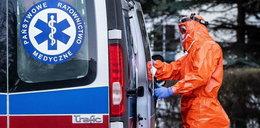 Pacjent z podejrzeniem koronawirusa dźgnął ratownika nożem