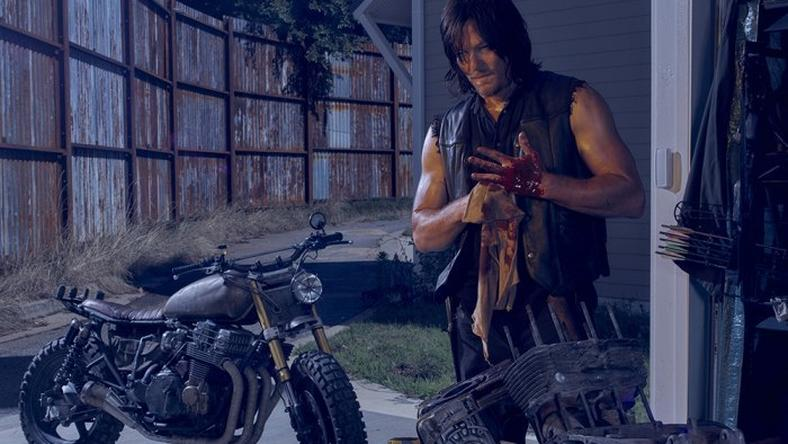 Norman Reedus plays Daryl Dixon. A scene from Season 6