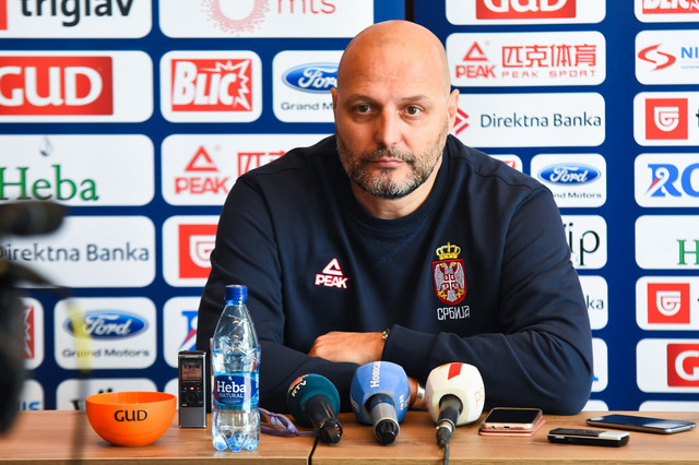 Selektor košarkaša Srbije Aleksandar Đorđević