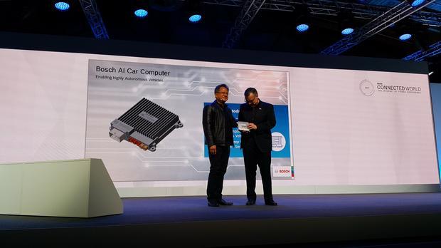 Pierwsza publiczna prezentacja Bosch AI Car Computer
