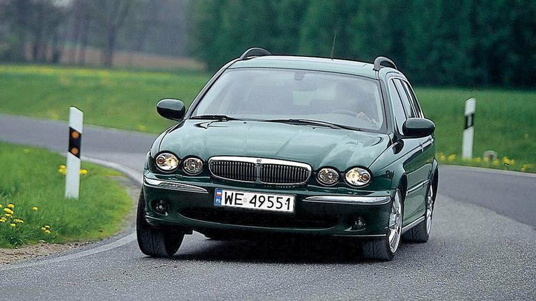 Jaguar X-Type 2.0 D - tani wstęp do klasy biznes