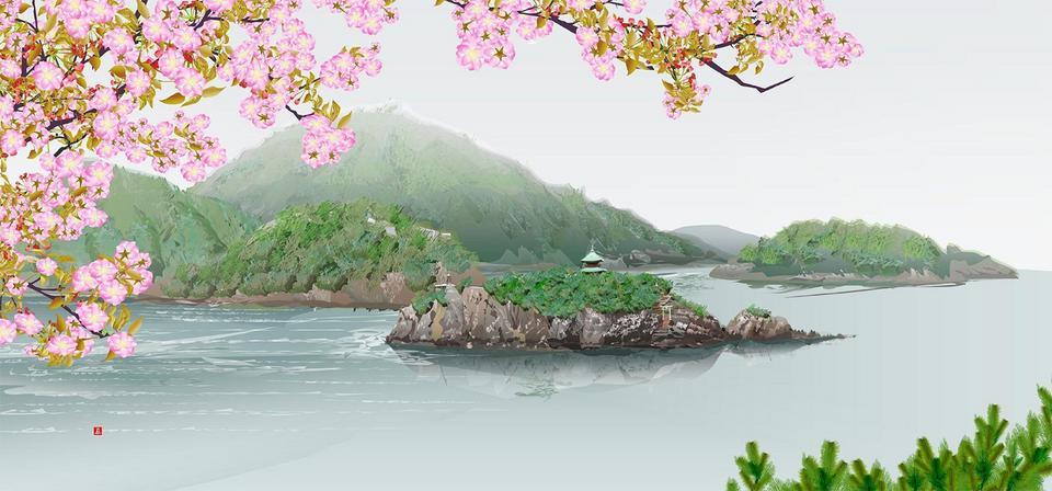 """Tatsuo Horiuchi artysta, który """"maluje"""" japońskie krajobrazy w Excelu"""