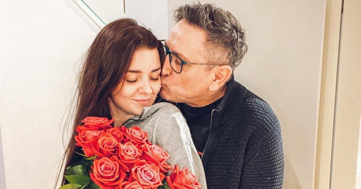 Andrzej Sołtysik i żona Patrycja. Opowiedzieli o początkach miłości i ślubie