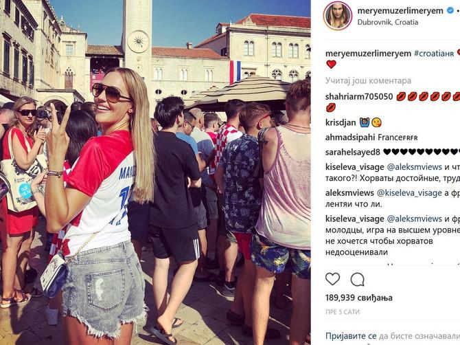 Merjem Uzerli u Hrvatskoj