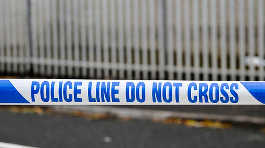 Policja zatrzymała podejrzaną osobę