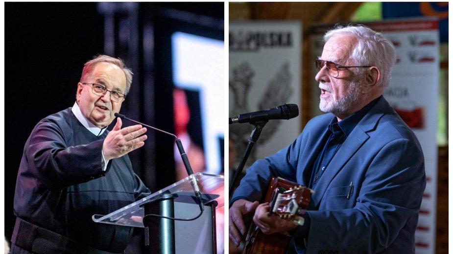 O. Tadeusz Rydzyk i Jan Pietrzak