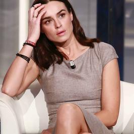 """Piękna Kasia Smutniak promuje film """"Limbo"""" we włoskiej telewizji"""