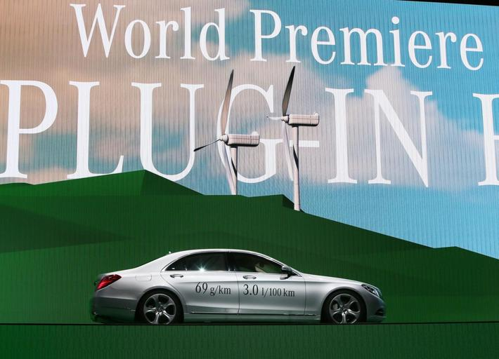 Mercedes S500 Plug-In