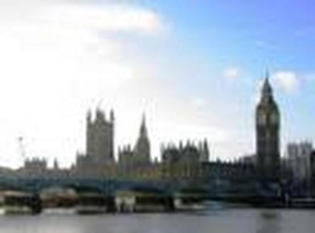 Panorama Londynu.