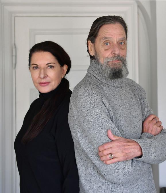 Marina Abramović i Ulaj