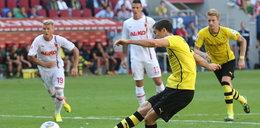 Robert Lewandowski strzelił gola Augsburgowi