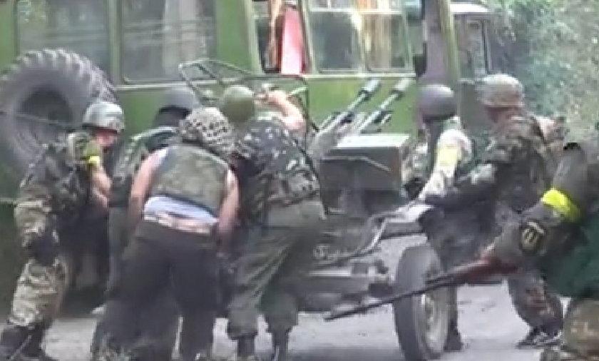 Rosjanie wtargnęli na Ukrainę