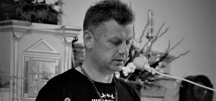 Nie żyje lider Wojowników Maryi Sierpc. Jego żona walczy o życie
