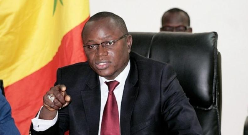 Matar Ba, ministre Sénégalais des Sports
