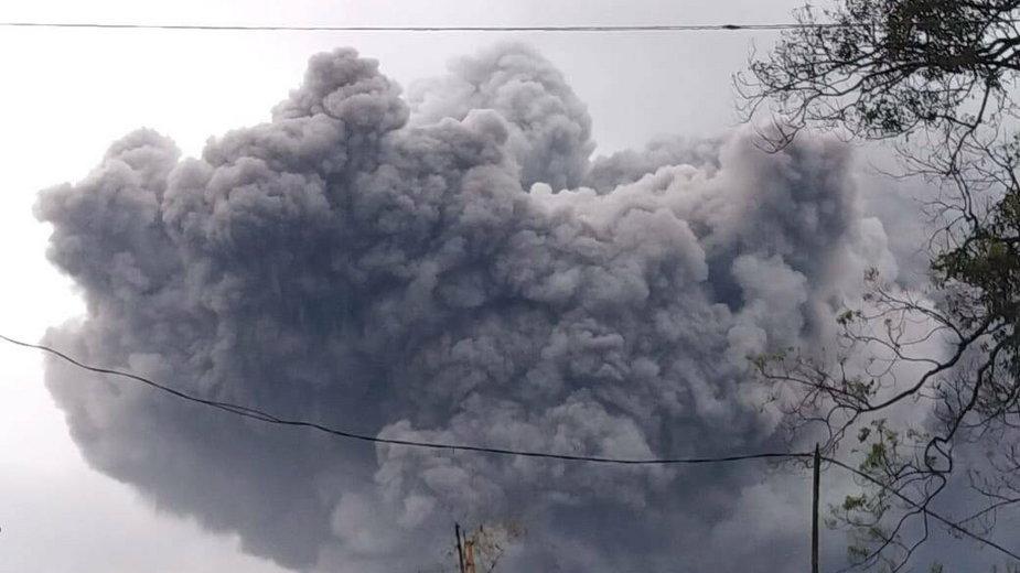 Indonezja: erupcja wulkanu na wyspie Jawa
