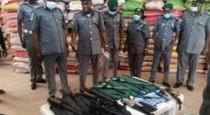 Customs seizes 180 jack knives from bandits' courier in Zamfara