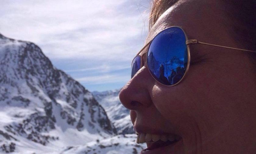 Marianna Durczok na wakacjach we Włoszech