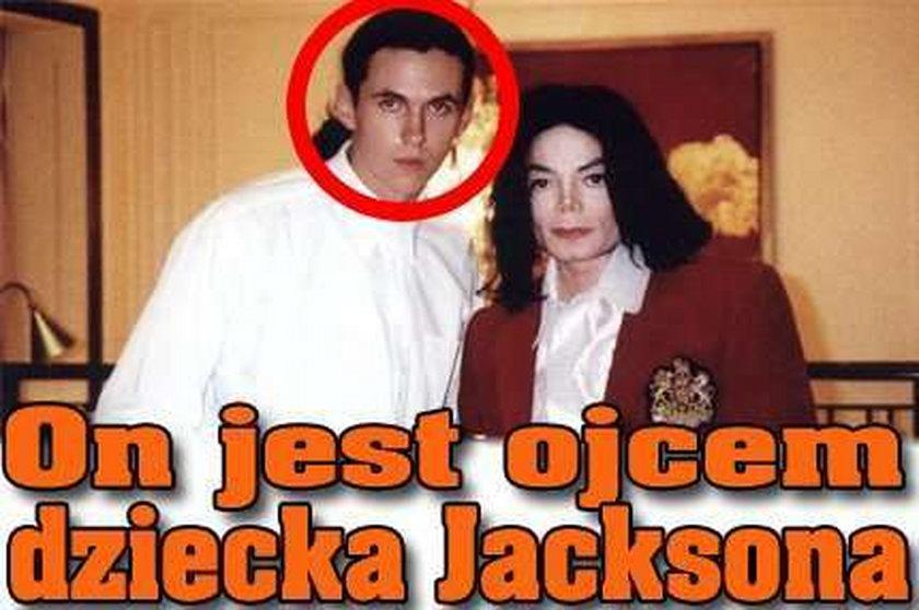 On jest ojcem dziecka Jacksona