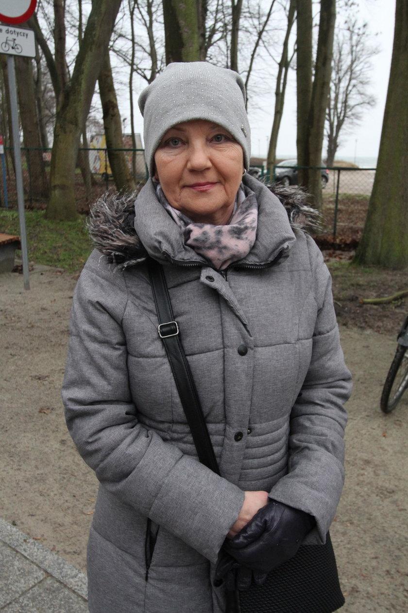 Grażyna Szłapa (52 l.) z Łodzi
