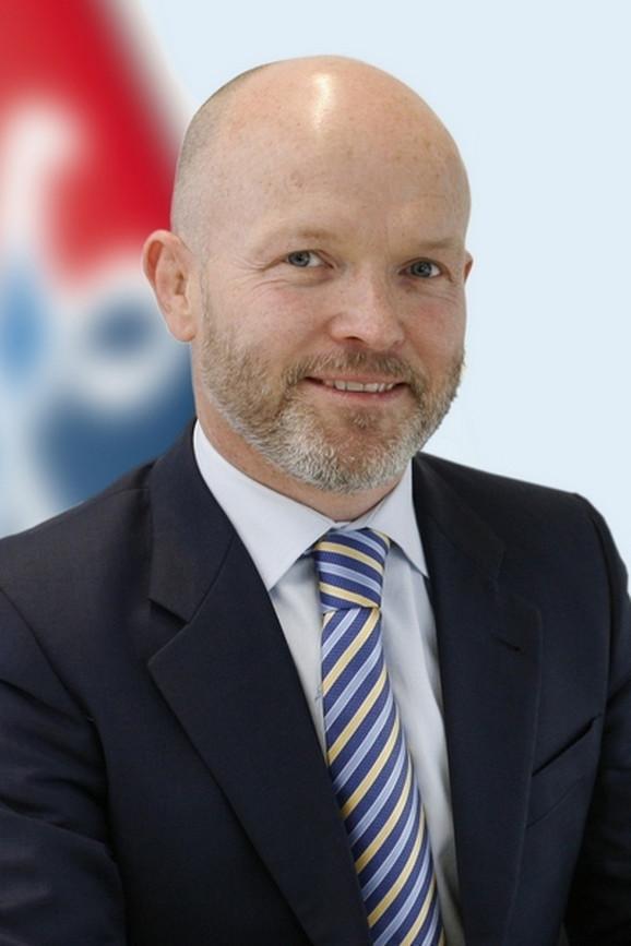 Dankan Nejsmit, generalni direktor Er Srbije